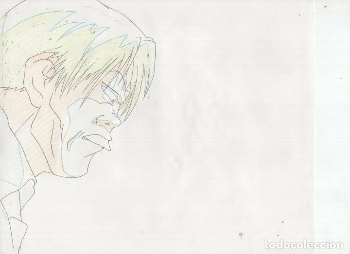 Cómics: ACETATO CELULOIDE Shin Hakkenden original Japanese animation cel CON LAPIZ douga A28 - Foto 3 - 160811590