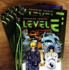 Cómics: LEVEL E ( COLECCIÓN COMPLETA 7 TOMOS ) YOSHIHIRO TOGASHI - PLANETA 1998. Lote 161257918
