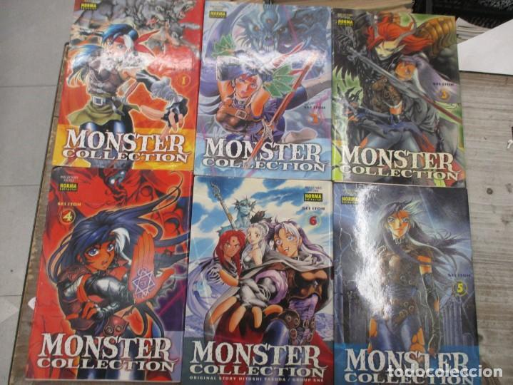 COLECCION COMPLETA MONSTER COLLECTION - 6 TOMOS - NORMA EDITORIAL (Tebeos y Comics - Manga)