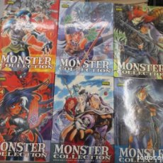 Cómics: COLECCION COMPLETA MONSTER COLLECTION - 6 TOMOS - NORMA EDITORIAL. Lote 161276346