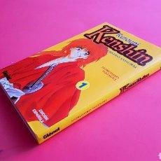 Cómics: DE KIOSKO KENSHIN EL GUERRERO SAMURAI 1 MANGA GLENAT. Lote 162354622