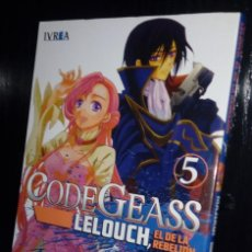 Cómics: CODE GEASS: LELOUCH, EL DE LA REBELIÓN Nº. 05. Lote 162822706