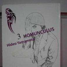 Cómics: HOMUNCULUS HIDEO YAMAMOTO PONENT MON TOMO 3. Lote 160200262