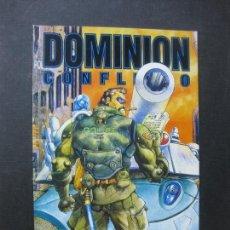 Cómics: DOMINION. CONFLICTO. Nº 4. .MASAMUNE SHIROW. NORMA EDITORIAL 1995. Lote 165227410
