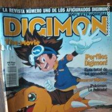 Comics: DIGIMON MAGAZINE Nº 1 - CON: DIGIMON- POKEMON- Y TODAS LAS SERIES DE DIBUJOS DE 2001.... Lote 165489814
