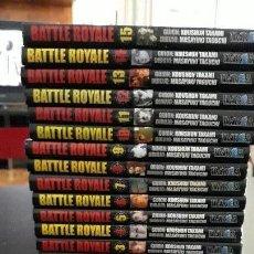 Cómics: BATTLE ROYALE COLECCION COMPLETA 15 NUMEROS. Lote 165950350