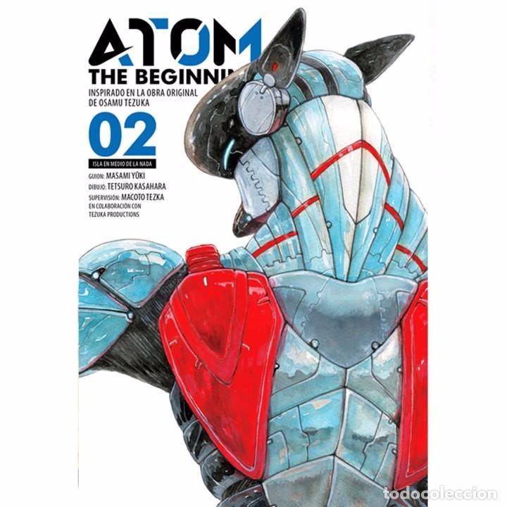 ATOM THE BEGINNING 02 (Tebeos y Comics - Manga)