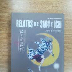 Cómics: RELATOS DE SABU E ICHI #3 LIBRO DEL CAMPO (PLANETA). Lote 168942816