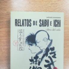 Cómics: RELATOS DE SABU E ICHI #4 LIBRO DEL CIELO (PLANETA). Lote 168942820