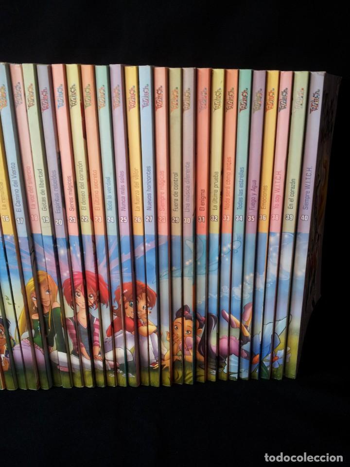 Cómics: COLECCION WITCH COMPLETA - 40 NUMEROS - DIARIO EL MUNDO 2009 - Foto 3 - 169739196