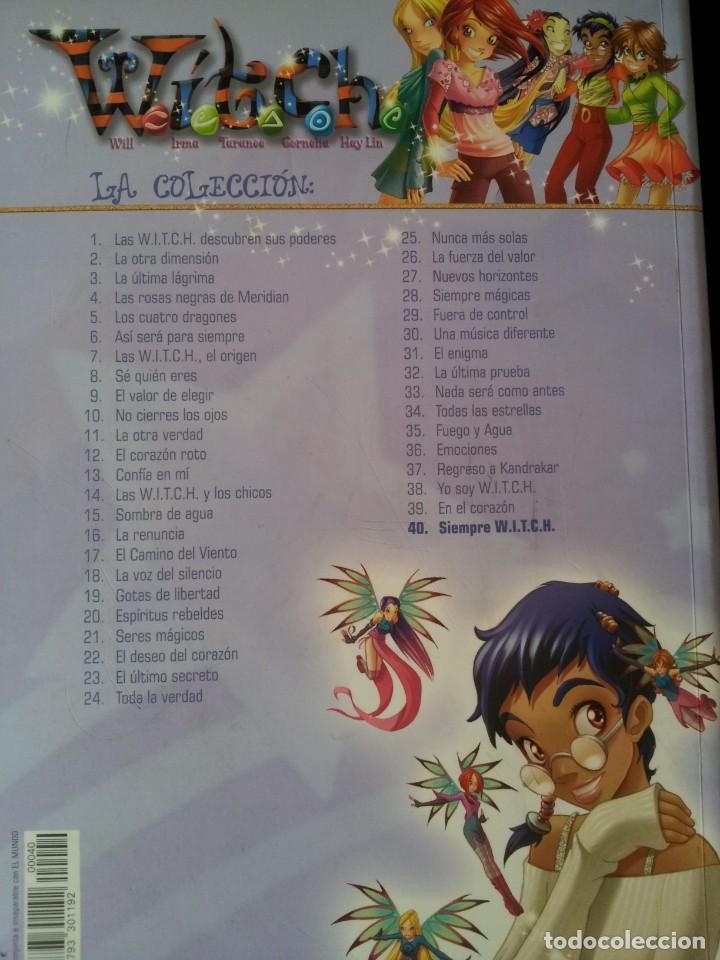 Cómics: COLECCION WITCH COMPLETA - 40 NUMEROS - DIARIO EL MUNDO 2009 - Foto 15 - 169739196