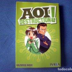 Cómics: MANGA AOI DESTRUCTION 2008 KAZUROU INOUE ED IVREA. Lote 170202252