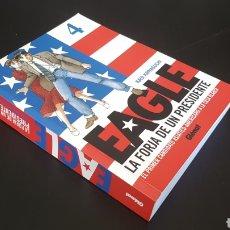 Cómics: DE KIOSCO EAGLE 4 LA FORJA DE UN PRESIDENTE MANGA GLENAT. Lote 171411999