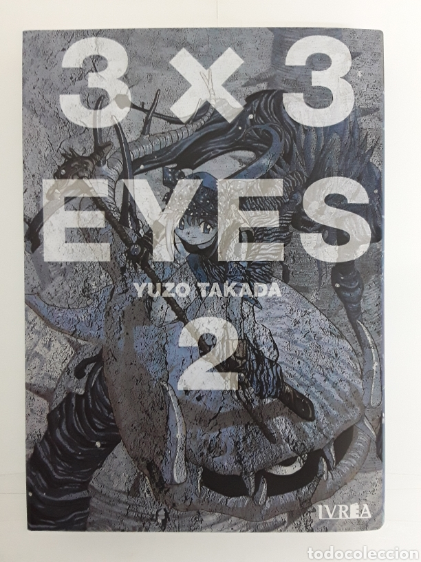 3 X 3 EYES 2 - YUZO TAKADA - IVREA / MANGA (Tebeos y Comics - Manga)