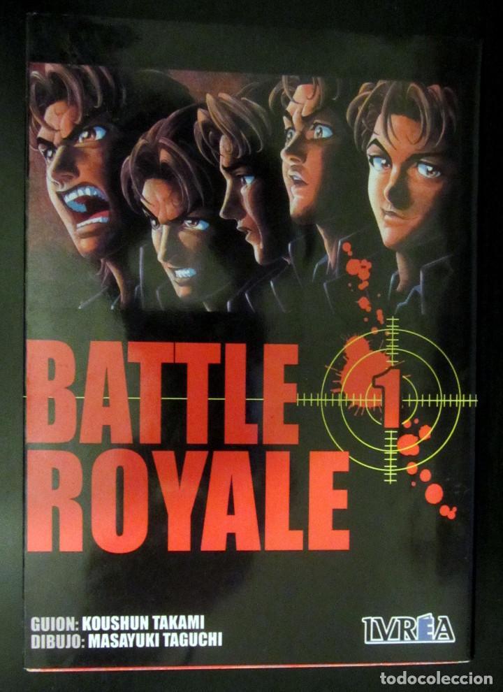 BATTLE ROYALE 1 - KOUSHUN TAKAMI  MASAYUKI TAGUCHI - EDITORIAL IVREA