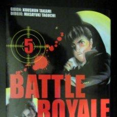 Cómics: BATTLE ROYALE 5 - KOUSHUN TAKAMI. MASAYUKI TAGUCHI - EDITORIAL IVREA. Lote 171809190