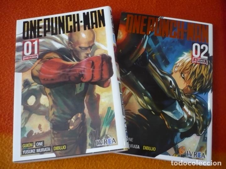 ONE PUNCH-MAN NºS 1 Y 2 ( ONE MURATA ) ¡MUY BUEN ESTADO! MANGA IVREA (Tebeos y Comics - Manga)