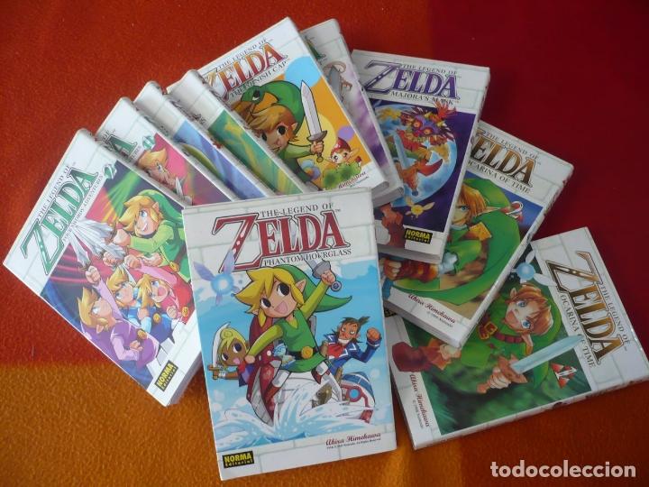 ZELDA 1 AL 10 ¡COMPLETA! ( HIMEKAWA ) ¡MUY BUEN ESTADO! MANGA NORMA OCARINA OF TIME A LINK THE PAST (Tebeos y Comics - Manga)