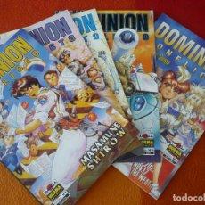 Cómics: DOMINION CONFLICTO 1 AL 4 ¡COMPLETA! ( MASAMUNE SHIROW ) ¡MUY BUEN ESTADO! MANGA NORMA. Lote 173951870