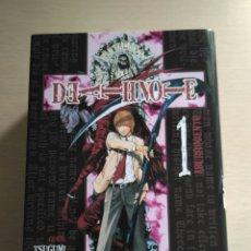 Cómics: DEATH NOTE #1 - ABURRIMIENTO (TSUGUMI OHBA, TAKESHI OBATA). Lote 208118552