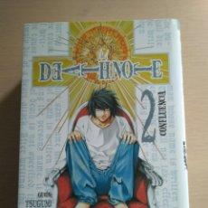 Cómics: DEATH NOTE #2 - CONFLUENCIA (TSUGUMI OHBA, TAKESHI OBATA). Lote 208118563