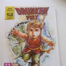 Cómics: DRUNKEN FIST Nº 3 - HEROES ORIENTALES - JADEMAN COMICS - FORUM CX21. Lote 174314729