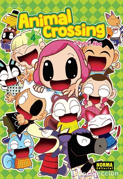 CÓMICS. MANGA. ANIMAL CROSSING 4 - SAYORI ABE (Tebeos y Comics - Manga)