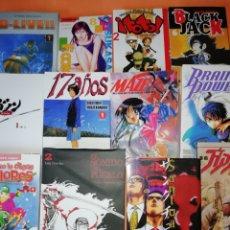 Cómics: LOTE. MANGA. 12 COMICS VARIADOS DISTINTAS EDITORIALES. VER FOTOS. BUEN ESTADO.. Lote 174920025
