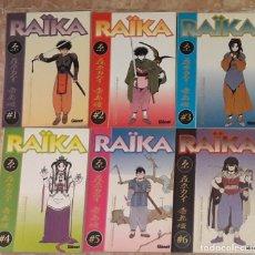 Cómics: MANGA RAIKA EDICIONES GLÉNAT COMPLETA 6 TOMOS. Lote 175932832