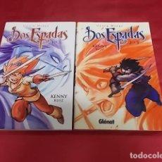 Comics : DOS ESPADAS. KENNY RUIZ. DOS TOMOS. 1 Y 2. GLÉNAT. Lote 176088153