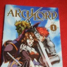 Cómics: ARCHLORD Nº1 PARK JIN-HWAN EDITORIAL IVREA 2007. Lote 176090873