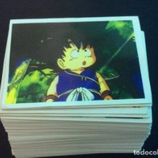 Cómics: LOTE 130 CROMOS DRAGON BALL PANINI 1989. Lote 184897286