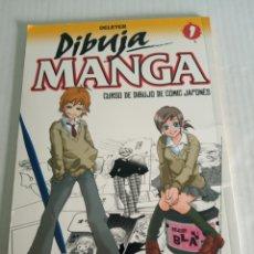 Cómics: DIBUJA MANGA. Lote 176468629