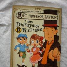 Cómics: EL PROFESOR LAYTON 1. Lote 176484040