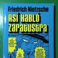 Cómics: ASÍ HABLÓ ZARATUSTRA, EL MANGA. Lote 176776899
