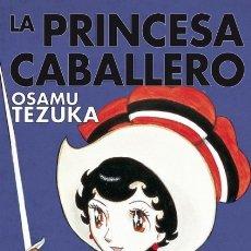 Cómics: LA PRINCESA CABALLERO INTEGRAL (OSAMU TEZUKA) PLANETA - CARTONE - IMPECABLE - OFI15T. Lote 177553862
