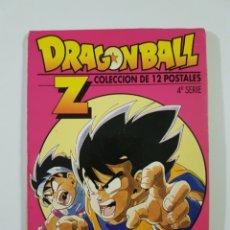 Cómics: DRAGON BALL Z POSTALES SERIE 4 4A - 8 DE 12 POSTALES + TAPA ORIGINAL - PLANETA DE AGOSTINI. Lote 176917318