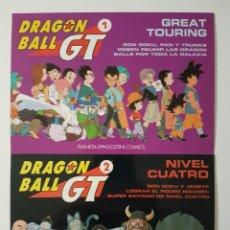 Cómics: DRAGON BALL GT POSTALES - SERIE 1 GREAT TOURING + SERIE 2 NIVEL CUATRO - PLANETA DE AGOSTINI. Lote 177039029