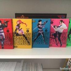 Cómics: ¡¡LOTE 5 TOMOS MANGA. BLACK TORCH. TSUYOSHI TAKAKI. NORMA EDITORIAL. COMPLETA!!. Lote 178103792
