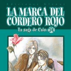 Cómics: LA SAGA DE CAIN 4 - LA MARCA DEL CORDERO ROJO 02 - GLENAT - SEMINUEVO. Lote 178173455
