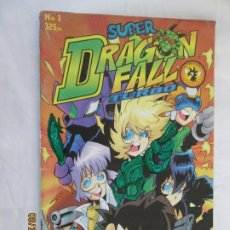 Cómics: SUPER DRAGON FALL TURBO Nº 1 - EDITORIAL HELIÓPOLIS. . Lote 179198133
