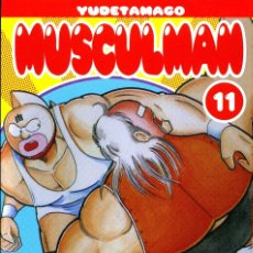 Comics: MUSCULMAN-11 (GLENAT) DE YUDETAMARO. 384 PGS. EN CATALÀ. Lote 190298262