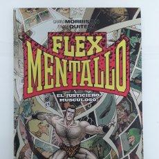 Cómics: FLEX MENTALLO. EL JUSTICIERO MUSCULOSO - MORRISON, QUITELY - ECC CÓMICS / VERTIGO. Lote 180092521