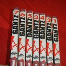 Cómics: GANTZ, DE OKU HIROYA - VOLS. 1,2,3,4,5,6 Y 7 - GLENAT 2002. Lote 180107938