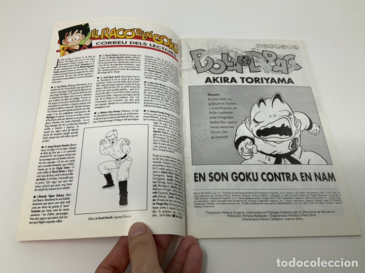 Cómics: BOLA DE DRAC PLANETA-AGOSTINI CÓMICS AÑO 92. Nª 20 A 29 - Foto 21 - 180395960