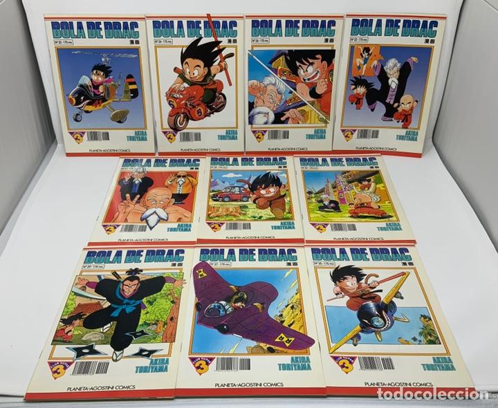 BOLA DE DRAC PLANETA-AGOSTINI CÓMICS AÑO 92. Nª 20 A 29 (Tebeos y Comics - Manga)