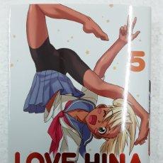 Cómics: LOVE HINA 5 (EDICIÓN DELUXE) - KEN AKAMATSU - IVREA / MANGA. Lote 180932901