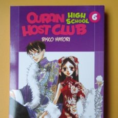 Cómics: OURAN HIGHT SCHOOL HOST CLUB. VOL. 6 - BISCO HATORI. Lote 181329548