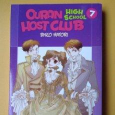 Cómics: OURAN HIGHT SCHOOL HOST CLUB. VOL. 7 - BISCO HATORI. Lote 181329555