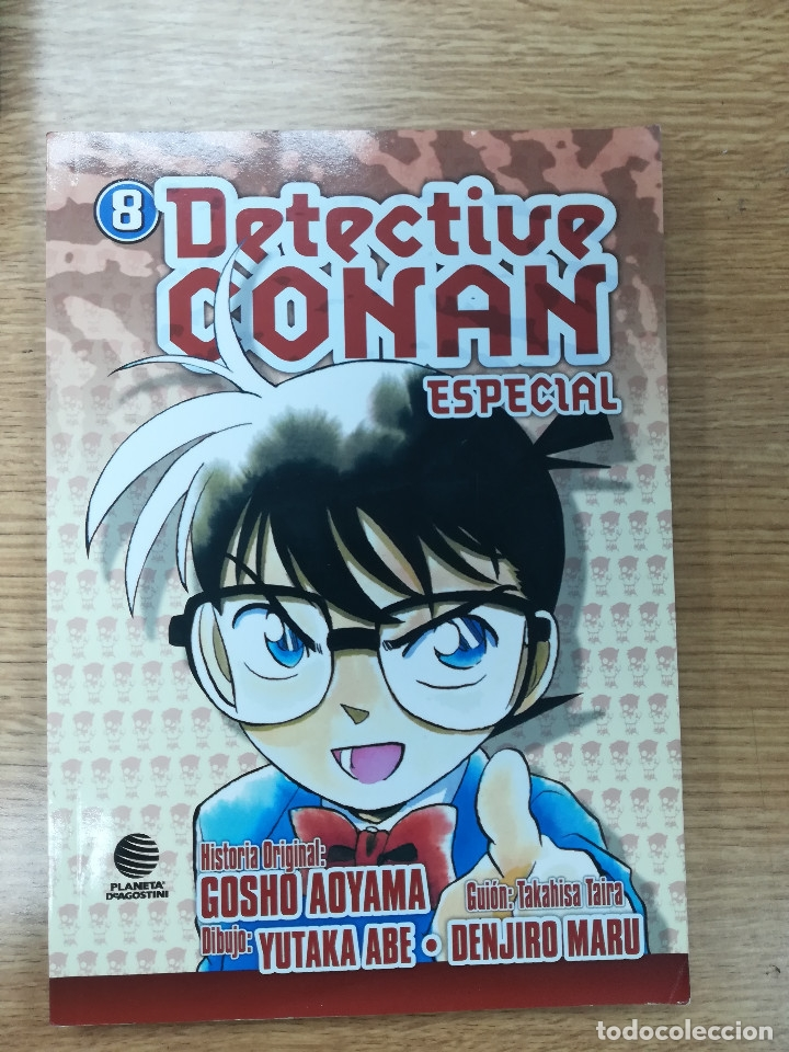 DETECTIVE CONAN ESPECIAL #8 (PLANETA) (Tebeos y Comics - Manga)